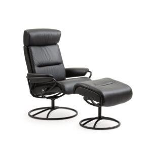Stressless Tokyo Original Adjustable High Back + Footstool